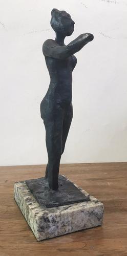 edgar degas  bailarina  escultura en bronce