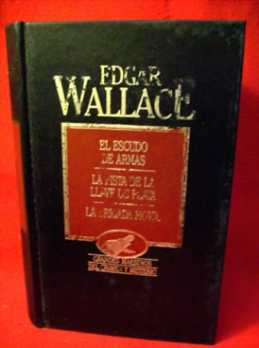 edgar wallace escudo de armas la pista de la llave de plata