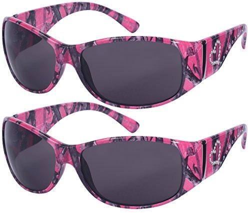 Edge Gafas De Sol Estilo Mujer Con Diseño De Camuflaje... 0f1d9703a94f