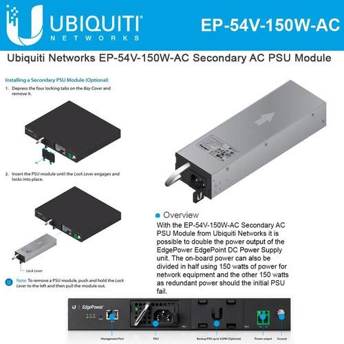 edgepower ubiquiti ep-54v-150w-ac fuente adicional ac
