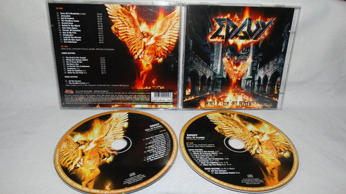 edguy ~ hall of flames (2 cds)
