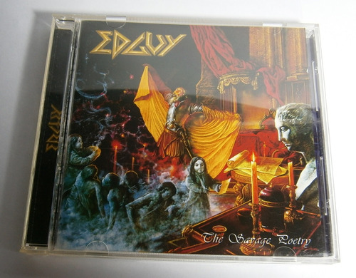 edguy - the savage poetry ( c d ed. rusia)
