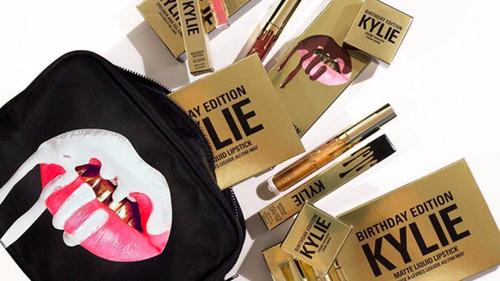 edición birthday kylie jenner x 6 labiales 100% originales