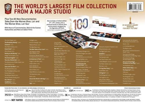 edición de colección 100 películas de warner bros dvd