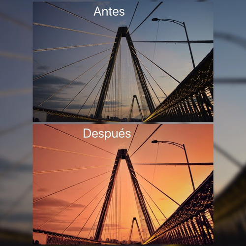 edición de fotografías para redes sociales(blogs, viajes)