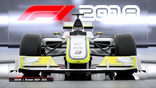 edicion de titulo f1 2018  xbox one