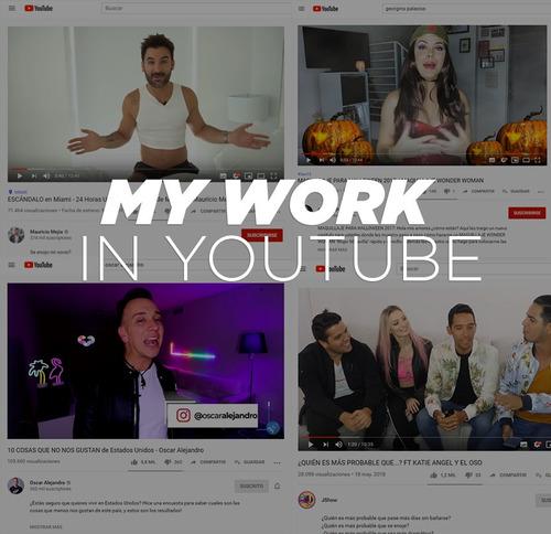 edición de video para youtube