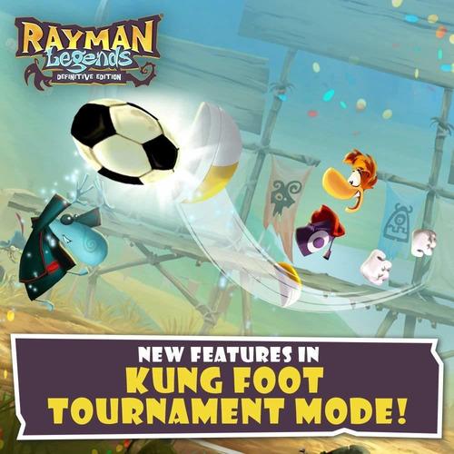 edición definitiva de rayman legends - nintendo switch