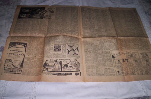 edicion del diario el dia del lunes 3 de noviembre de 1958.