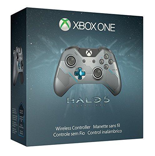 edición limitada de xbox one halo 5: controlador inalámbrico