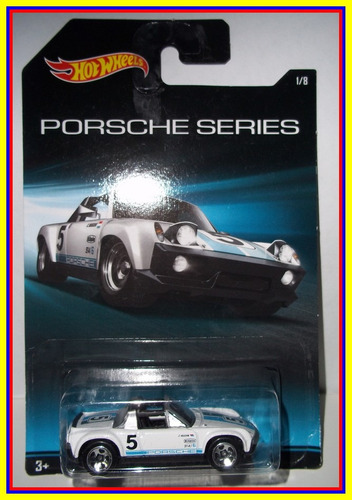 edicion porsche series de hot wheels - porsche 914-6