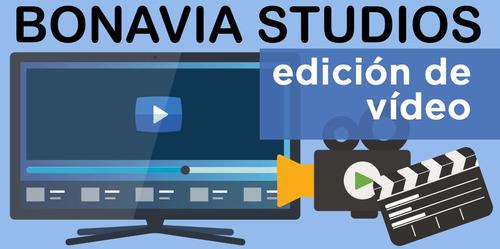 edición profesional de videos y fotos