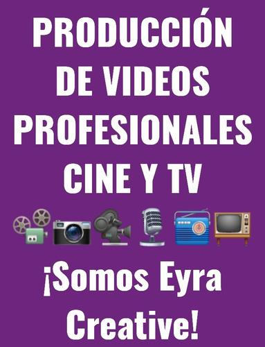 edición y producción de videos spots para cine, tv, internet