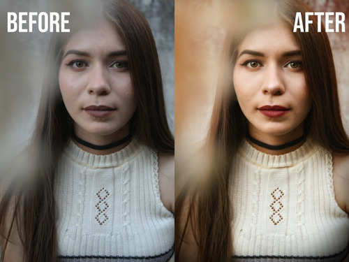 edición y retoque de fotos + creación y diseño de marca