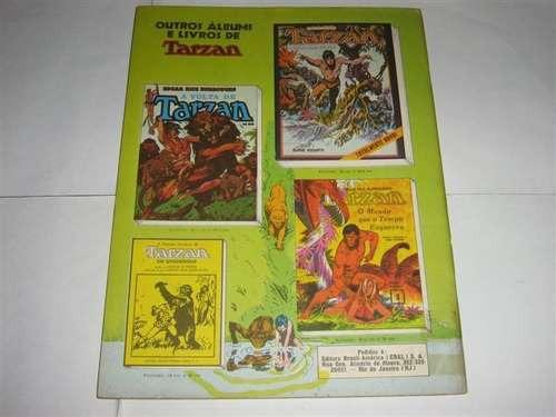 edição anual de tarzan  - a ilha do diabo -  ebal de 1981