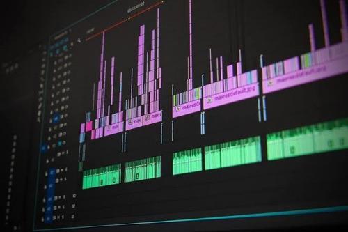 edição de vídeo e animação