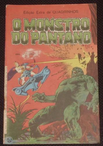 edição extra de quadrinhos- o monstro do pântano- ebal - 82
