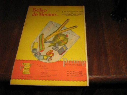 edição maravilhosa 1ª série nº 35 maio /1951 ebal c/ 50 págs