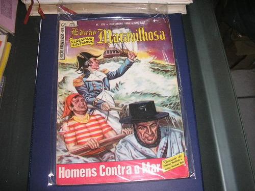 edição maravilhosa nº 135 editora ebal  1ª edição novem 1956