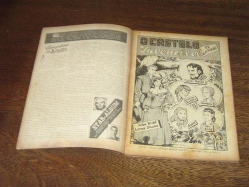 edição maravilhosa nº 40 outubro/1951 editora ebal original