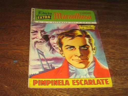 edição maravilhosa nº 56 setembro/1952 editora ebal original