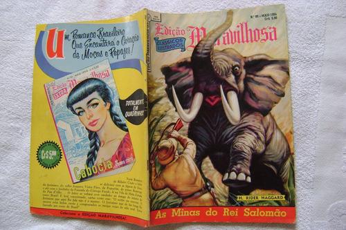 edição maravilhosa nº 85 maio 1954 ebal ótimo!
