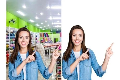 edição remover remoção tirar fundo de 10 imagens barato