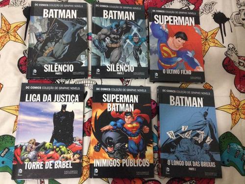 edições dc comics eaglemoss - complete sua coleção