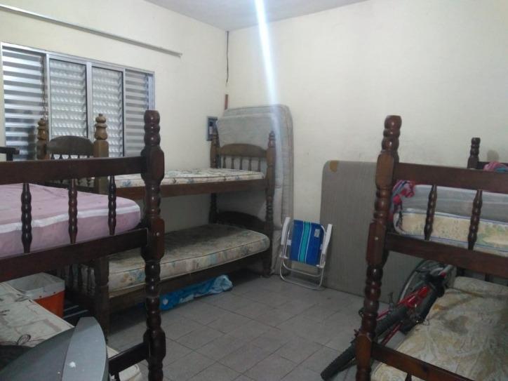 edícula 01 dormitório mongaguá bairro: agenor de campos