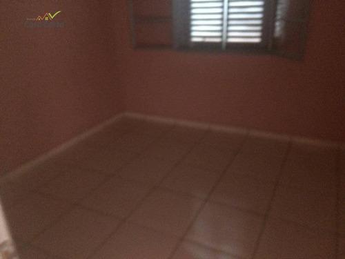 edícula com 2 dormitórios para alugar, 50 m² por r$ 700/mês - loteamento morro de ouro - mogi guaçu/sp - ed0060
