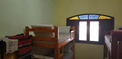 edícula em itanhaém, lado praia, 1 dormitório - ref 4394-p