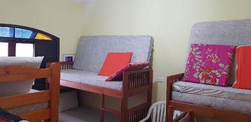 edícula no lado praia com 1 dormitório - ref 4394-p