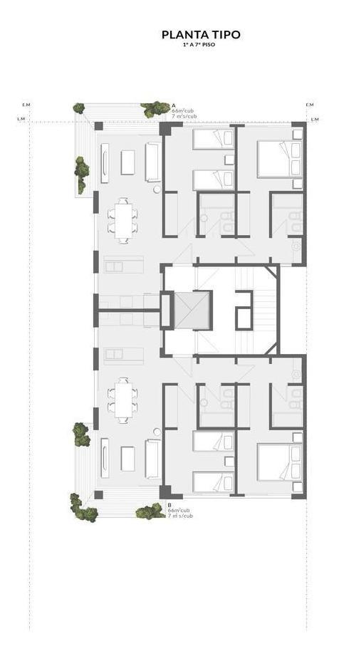 edificio a estrenar   punto norte   departamento 3 ambientes    olivos