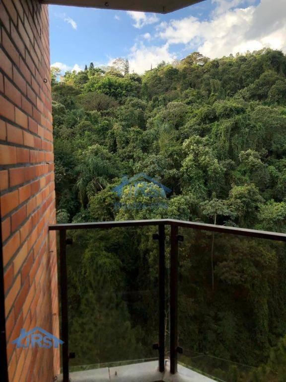 edifício ana paula apartamento com 3 dormitórios à venda, 113 m² por r$ 620.000 - alphaville - santana de parnaíba/sp - ap2380