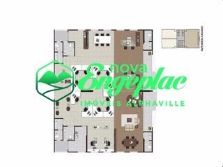 edifício cauaxi empresarial 252m² al cauaxi alphaville - sa00182 - 4753691