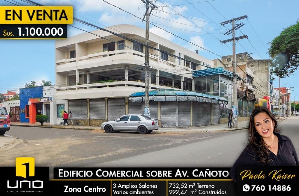 edificio comercial en venta sobre avenida cañoto