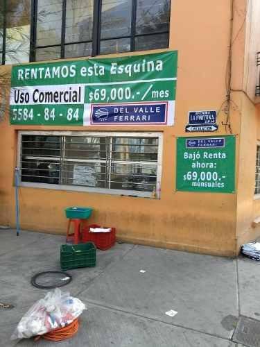 edificio comercial insurgentes norte esquina calle fortuna-t