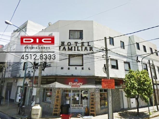 edificio comercial - local en planta baja y hotel familiar de 34 hab. - carapachay