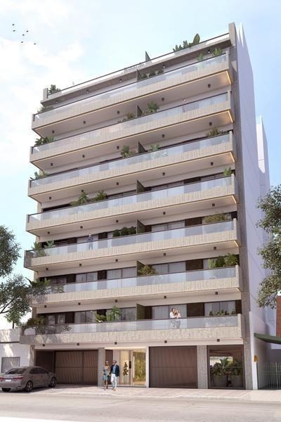 edificio con piscina y solarium, entrega julio 2021