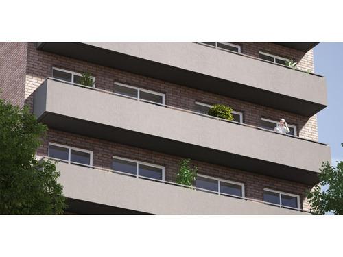 edificio de 8 plantas con unidades de 1 dormitorio. laprida 1300