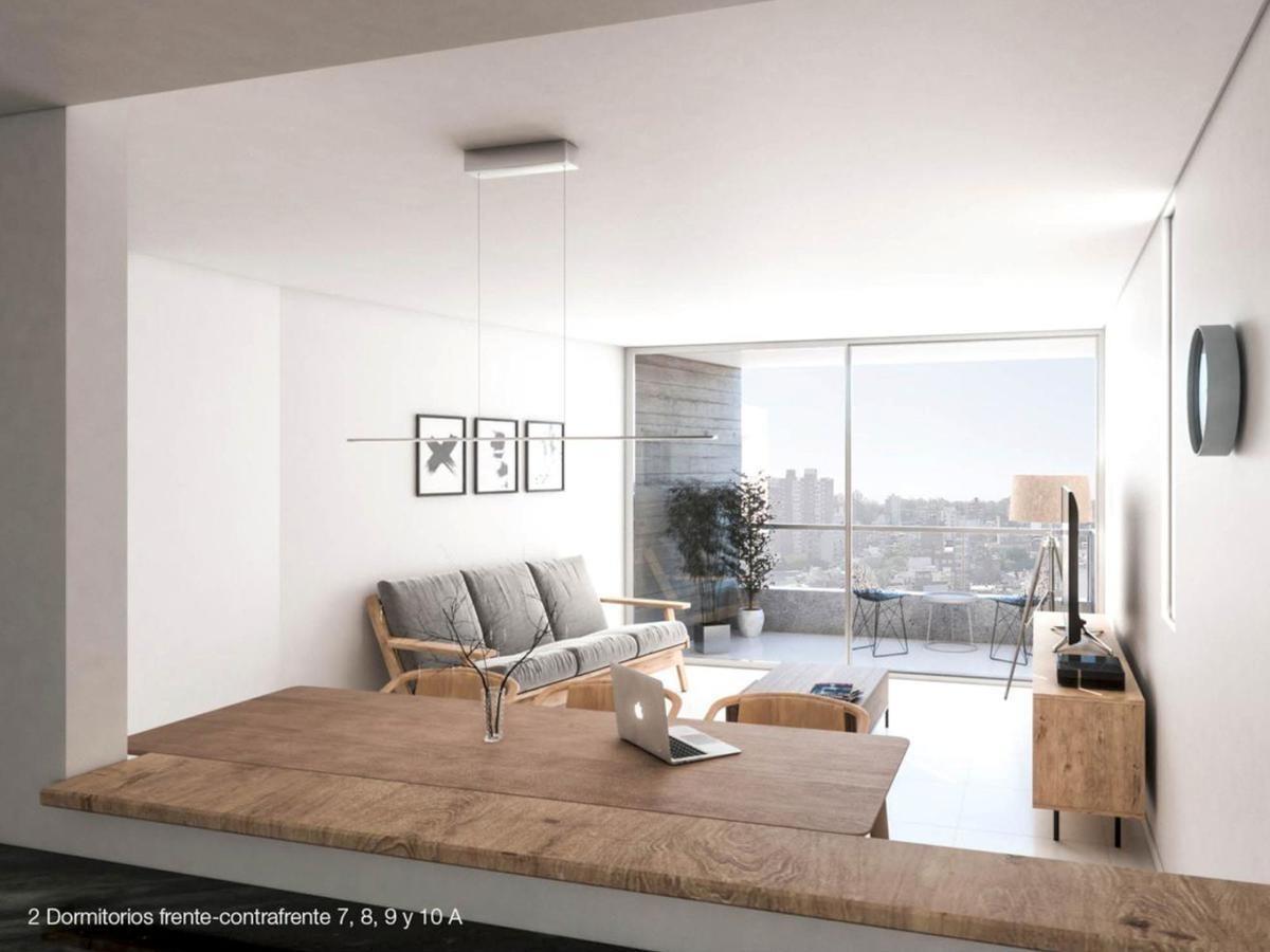 edificio de diseño con loft, 1 y 2 dormitorios