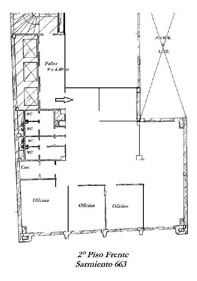 edificio de oficinas de categoría - sarmiento 663