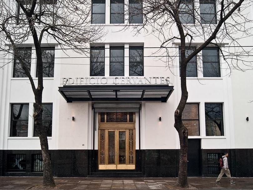 edificio de oficinas en abasto - venta