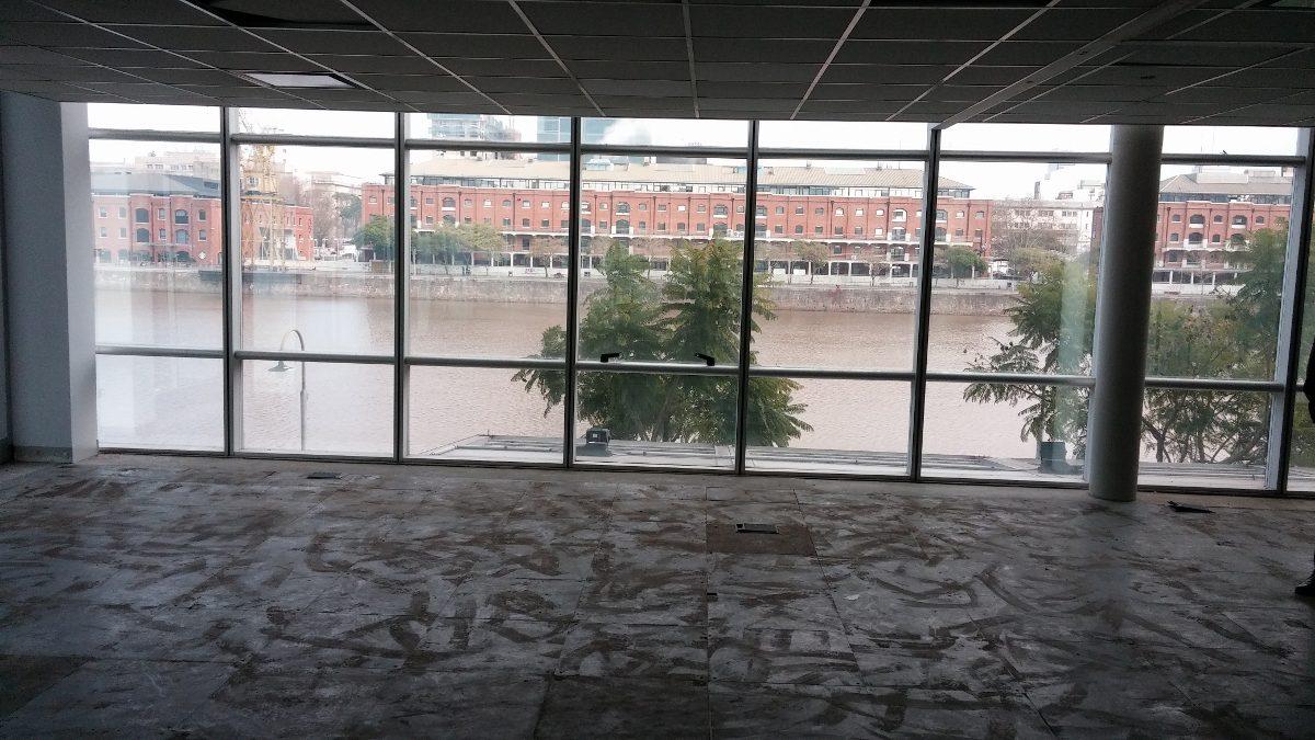 edificio de oficinas en puerto madero - alquiler pb sur