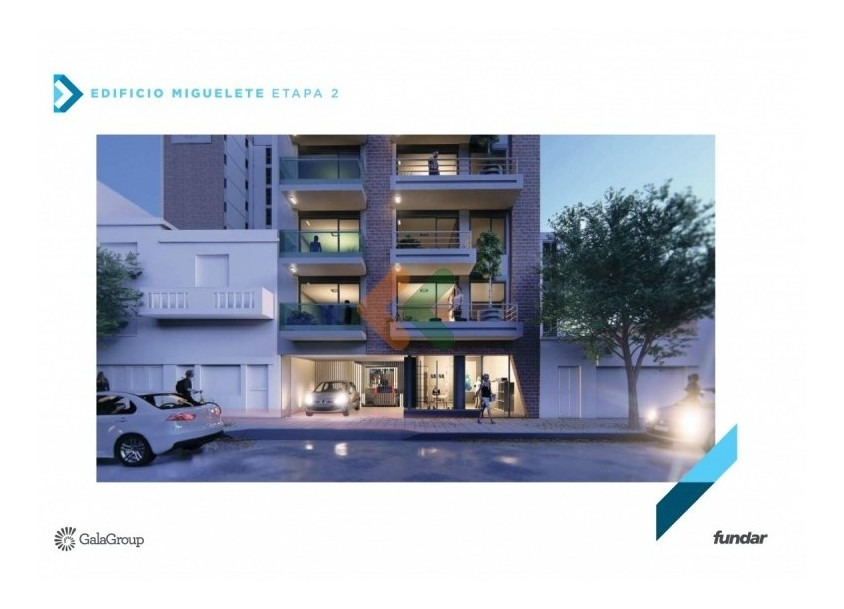 edificio de viviendas de 1 y 2 dormitorios con patio verde.- ref: 7877