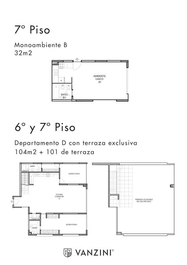 edificio de viviendas - excelente construcción -lofts - 1 -2 -3 dormitorios