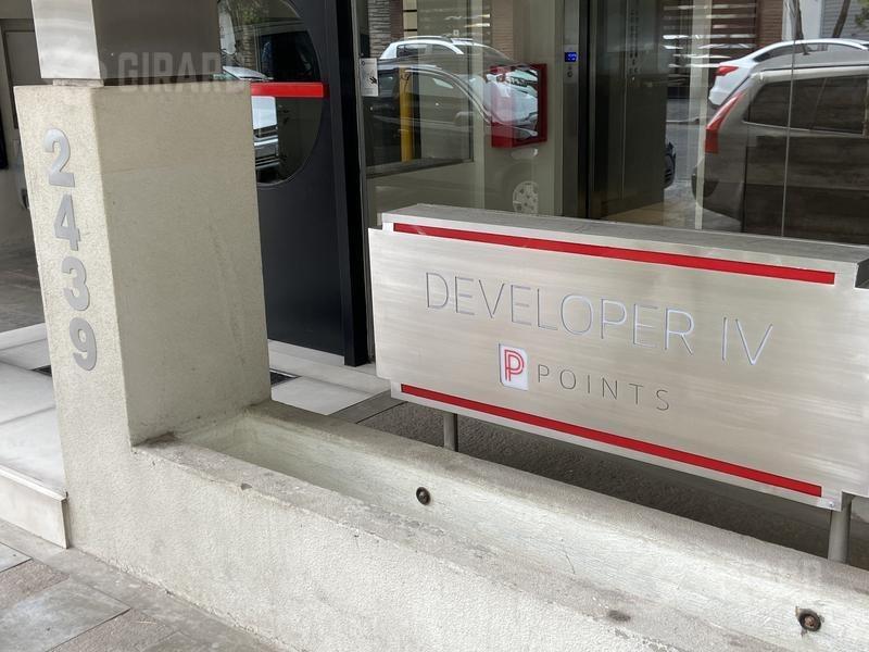 edificio developer points, semipisos 2 ambientes, plaza mitre