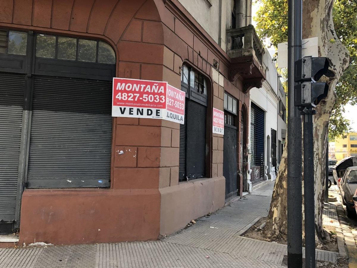 edificio en block  en venta ubicado en villa crespo, capital federal