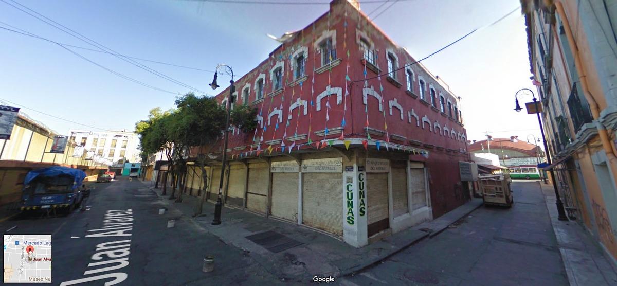 edificio en el centro df, adjudicado precio de remate!
