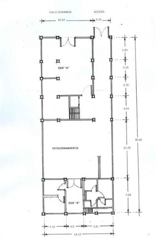 edificio en venta en roma norte( av. durango)